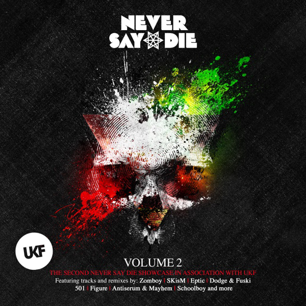 Never Say Die UKF Vol. 2 Album [Ft. Zomboy, Excision, SKiSM, SchoolBoy & MORE]