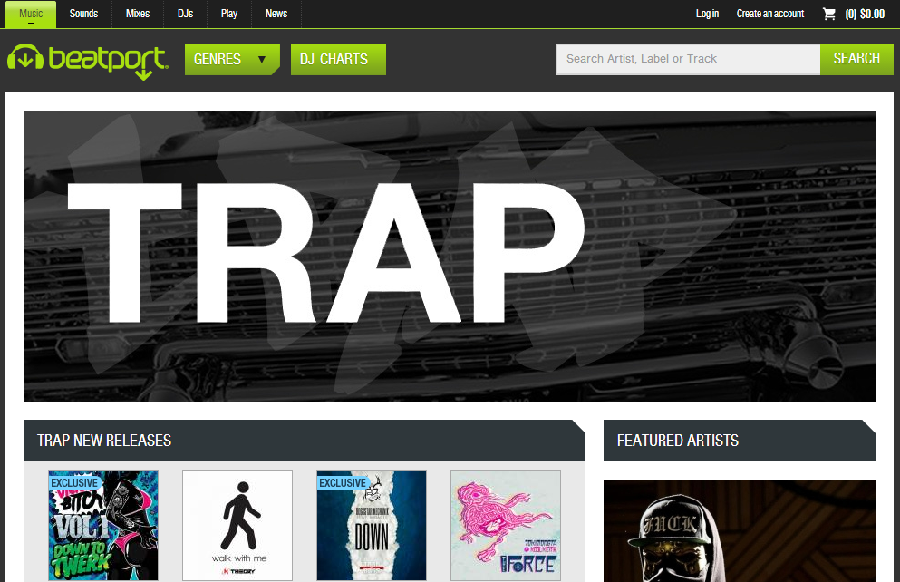 beatport trap
