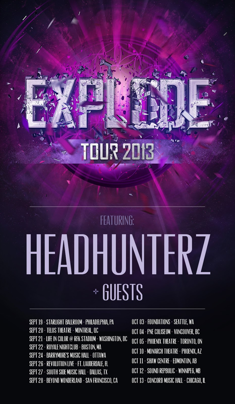Event Preview: The Explode Tour – Headhunterz with Isaac & Brennan Heart, Boston