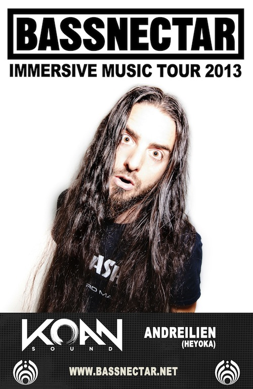 Bassnectar's Immersive Music Tour Kicks Off On The East Coast