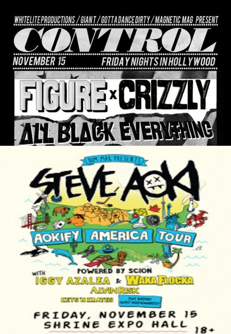 [Event Preview] This Week: Los Angeles – Control Fridays @ Avalon & Aokify America Tour