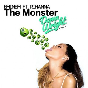 Eminem – The Monster feat. Rihanna (Damn Wright Remix) [FREE DOWNLOAD]