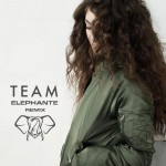 Lorde - Team elephante remix artwork