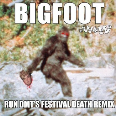 "Run DMT Gets Grimey With His Festival Death Reimix Of W&W's ""Big Foot"""