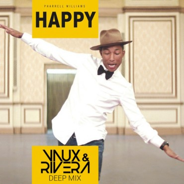 "Get Groovy To Vaux & Rivera's Remix of Pharrell Williams ""Happy"" [Free Download]"