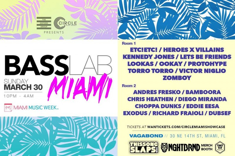 [GIVEAWAY] BASS LAB MIAMI Featuring ETC(!) ETC(!) x Kennedy Jones x Lets Be Friends x LooKas x Ookay x Protohype x TORRO TORRO x Victor Niglio x Zomboy  & MORE!