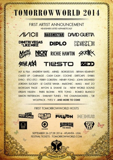 TomorrowWorld Phase 1 Announcement
