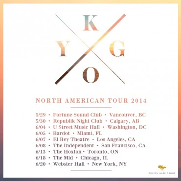 Kygo Gets Ready To Take On North America With Upcoming Tour