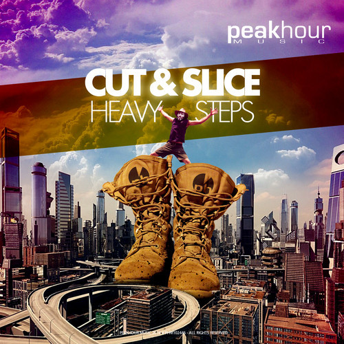 "Cut & Slice Crushes The Dance Floor With ""Heavy Steps (Original Mix)"""
