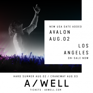 [Event Preview] Axwell Takes Over Avalon For First Solo L.A Show In Three Years