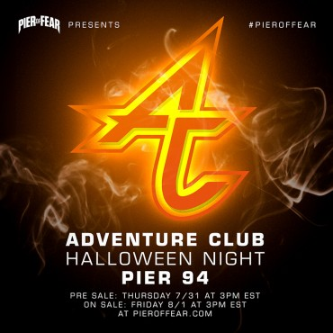 Adventure Club To Headline Pier Of Fear, Halloween Night At Pier 94 NYC