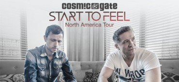 "Giveaway: Cosmic Gate's ""Start To Feel"" Tour"