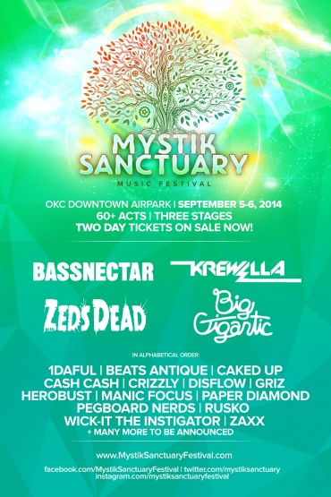 Crizzly, Caked Up & Manic Focus Join Mystik Sanctuary Lineup For Phase 3