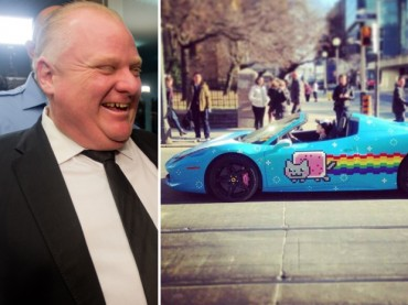 Deadmau5 Takes Toronto Mayor Rob Ford On A Coffee Run.. Drinks 5 Shots of Espresso