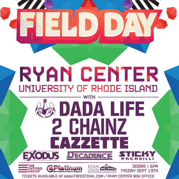 Giveaway: Field Day Festival feat. Dada Life, 2 Chainz, and Cazzette