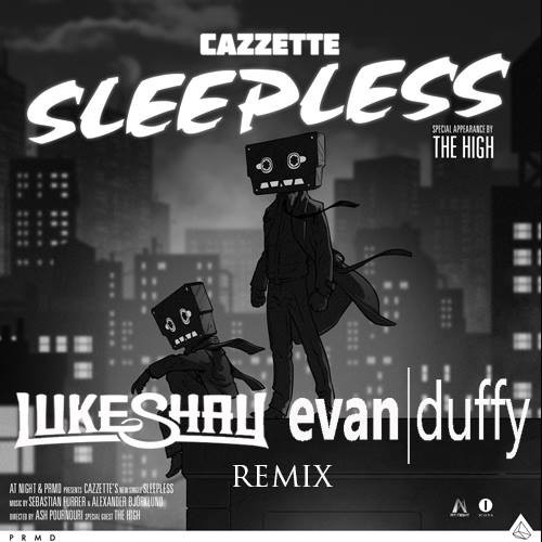"Luke Shay & Evan Duffy Put Their Magical Touch On Cazzette's ""Sleepless"""