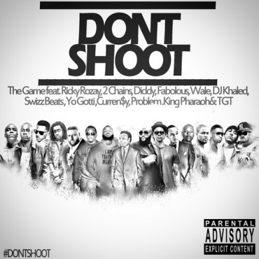 "The Game Releases ""Don't Shoot"" Anthem for the Police-Slain Michael Brown"