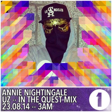 "UZ Takes Us On A ""Trap Quest"" With Latest Mix For Annie Nightingale"
