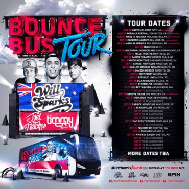 Bounce Bus Tour Coming to North America
