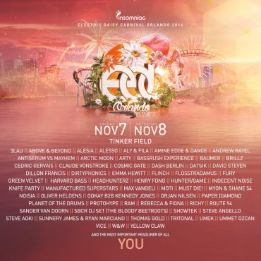 Insomniac Announces Its EDC Orlando Lineup Plus Our Top 5 Must See Sets