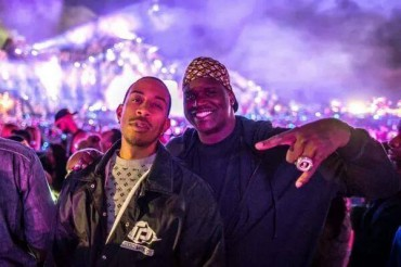 Shaquille O' Neal & Ludacris Spotted at TomorrowWorld 2014
