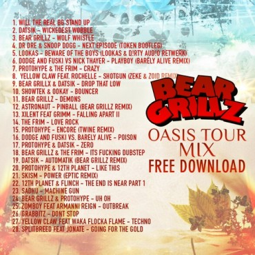 Bear Grillz Prepares To Hit The Road With Oasis Tour Mix