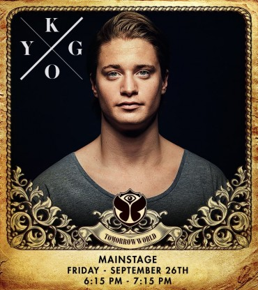 Kygo To Replace Avicii At TomorrowWorld 2014