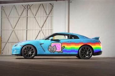 Nissan Offers Deadmau5 a Replacement Nyan Cat GTR