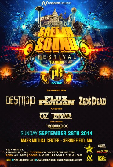 [TICKET GIVEAWAY] NV Concepts & TSS Want You To Be Safe In Sound
