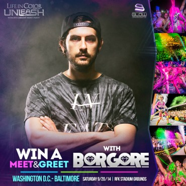 [TICKET GIVEAWAY + MEET & GREET] Borgore Wants To Dump Paint On YOU At Life In Color, DC
