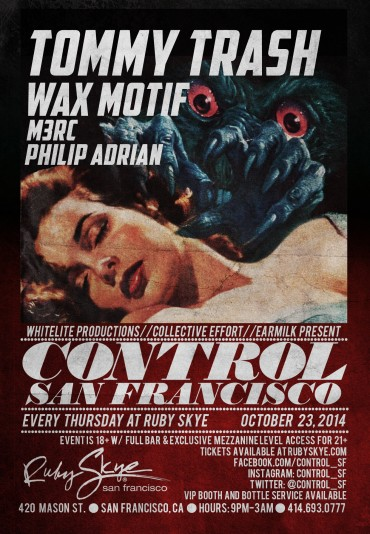 CONTROL Thursdays Is Coming To San Francisco