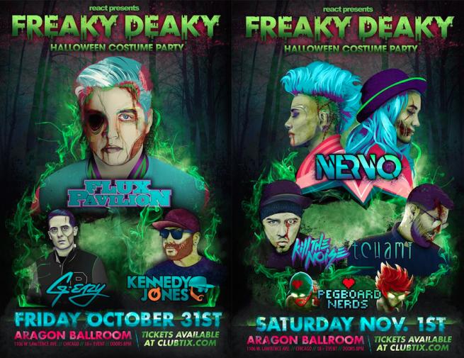 Freaky Deaky Halloween   Halloween Freaky Deaky Thissongslaps Com Electronic Dance Music
