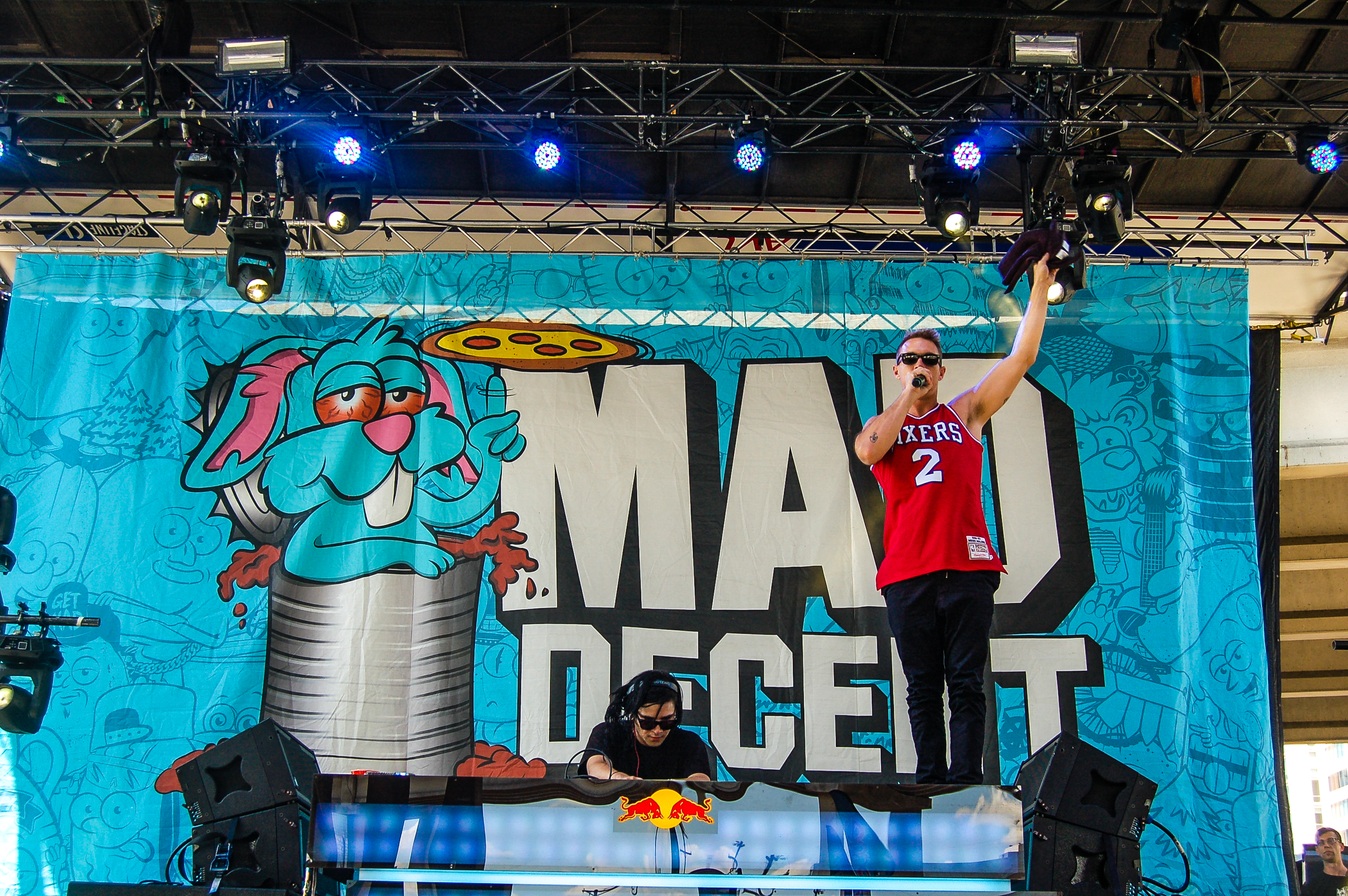 Jack U-Skrillex-Diplo at Mad Decent Block Party Dallas