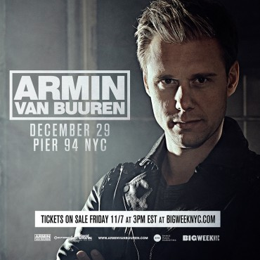 Armin van Buuren Announces New Album & NYC Takeover