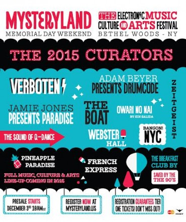 Mysteryland Announces 2015 Music, Culture & Art Curators