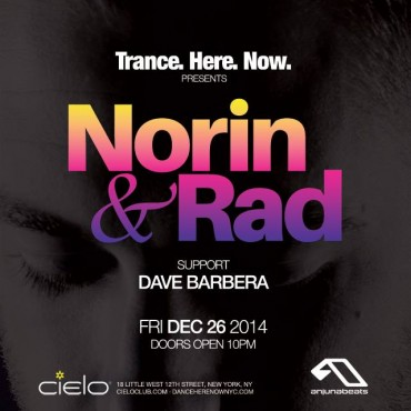 [Giveaway] Norin & Rad At Cielo NYC