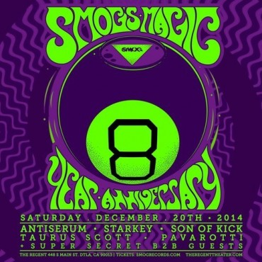 SMOG Records Celebrates 8 Magical Years