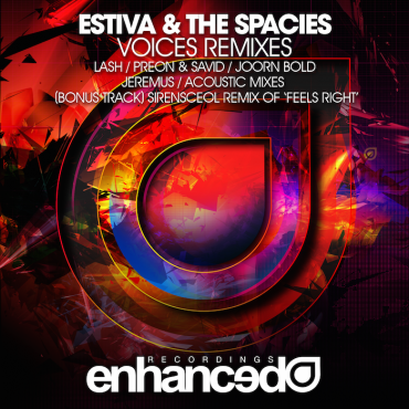 "Estiva & The Spacies Release Massive ""Voices"" Remix EP"