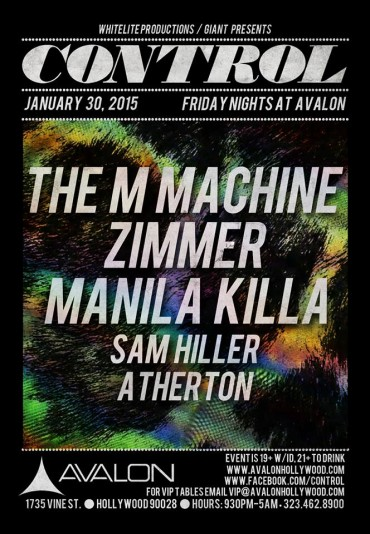 The M Machine & More Takeover CONTROL Fridays At Avalon Hollywood
