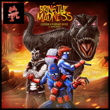 "Excision and Pegboard Nerds ""Bring The Madness"" With New Track"