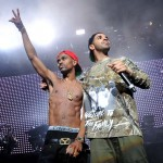Big Sean performs at DTE Energy Music Theatre