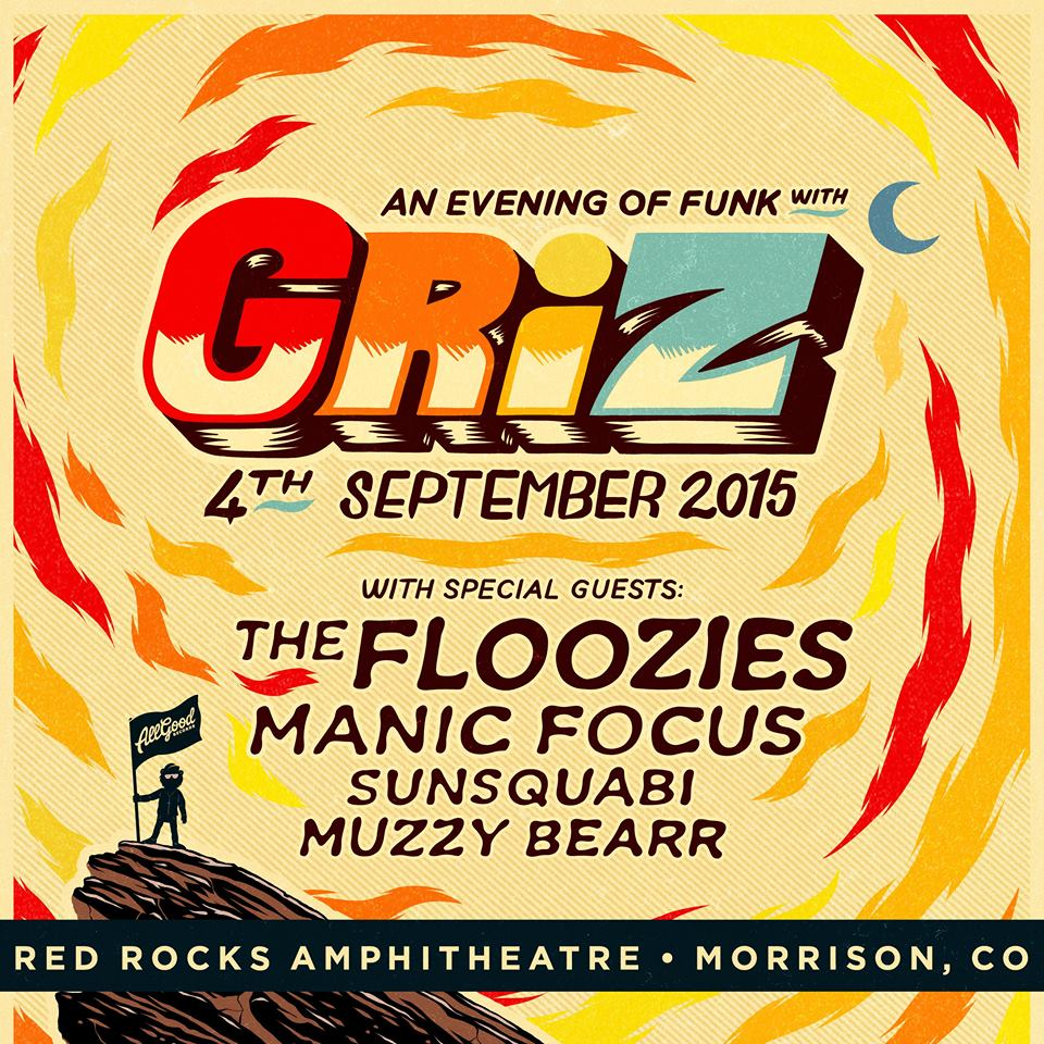 griz at red rocks pre sale tickets sells out in under 2 hours