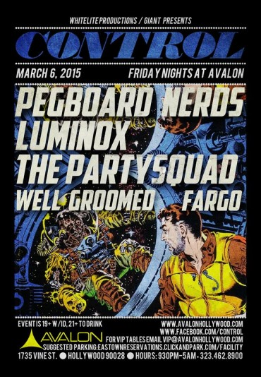 CONTROL Fridays At Avalon Hollywood With Pegboard Nerds & More