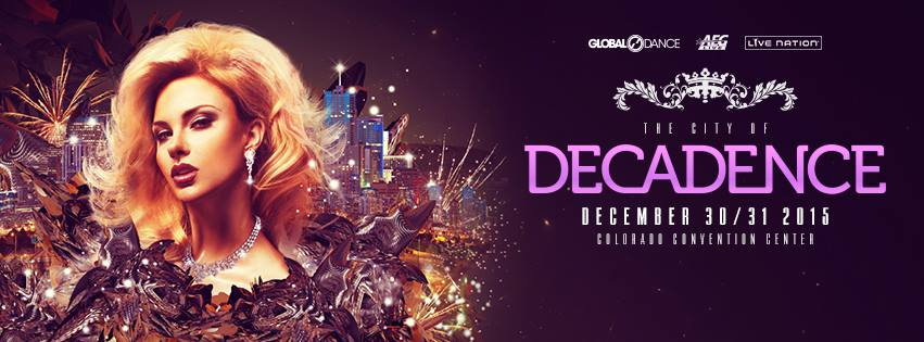 Decadence Reveals Denver NYE Lineup Featuring Bassnectar, Jack U, Deadmau5, & Much More