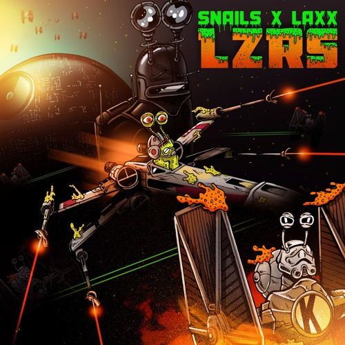 """Snails and LAXX Join Forces For Crazy """"LZRS"""""""