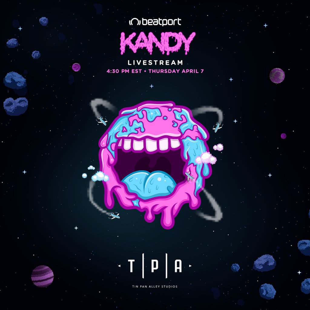 KANDY Guest Mix Live From The Beatport Office In New York City