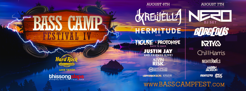 Bass Camp Cover Graphic