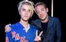 INGLEWOOD, CALIFORNIA - APRIL 03:  Recording artists Justin Bieber (L) and Diplo pose backstage at the iHeartRadio Music Awards which broadcasted live on TBS, TNT, AND TRUTV from The Forum on April 3, 2016 in Inglewood, California.  (Photo by Kevin Mazur/Getty Images for iHeartRadio / Turner)