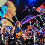 James Hetfield, Lars Ulrich, Kirk Hammett and Robert Trujillo perform in concert during X Games Austin at Circuit of The Americas on June 6, 2015 in Austin, Texas.