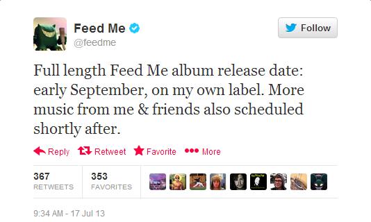 Feed Me Announces New Album